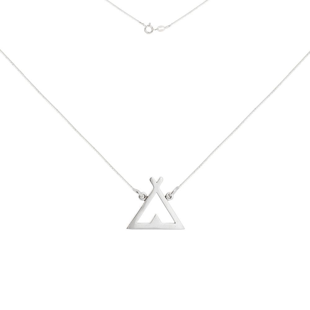 Colar Triângulo Tenda