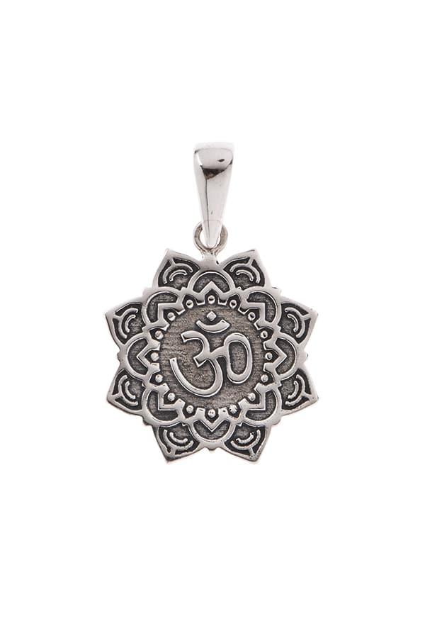 Pingente Mandala com Símbolo do Om