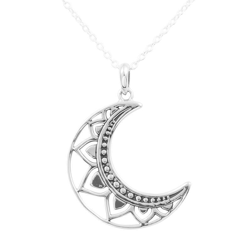 Pingente Lua Mandala