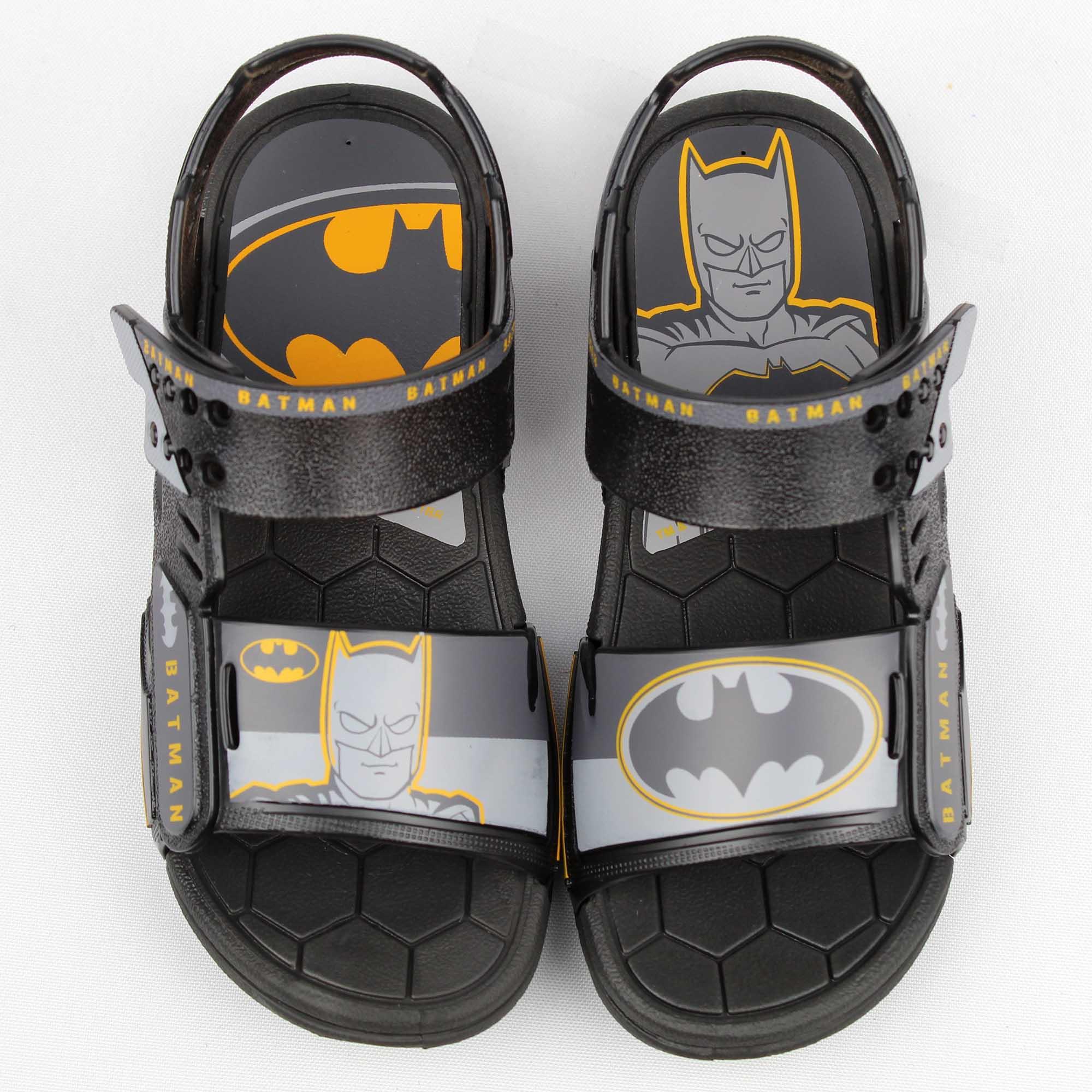 Sandália Infantil Grendene Batman + Nave Batwing