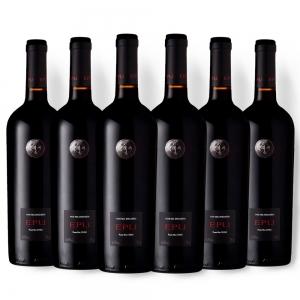 Caixa com 6 garrafas Almaviva Epu 2016