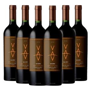 Caixa com 6 garrafas - VAV Malbec