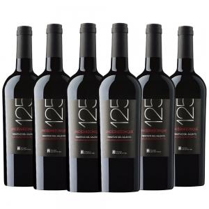 Caixa com 6 garrafas- Vinho 125 Primitivo del Salento
