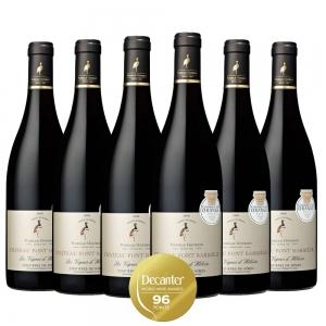 Caixa com 6 garrafas - Vinho Chateau Font Barriele Les Vignes d´heloise Costieres -de-Nimes