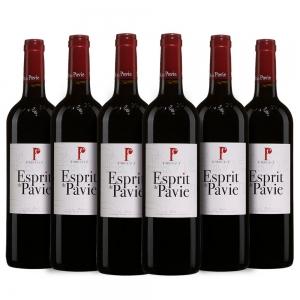 Caixa com 6 garrafas- Vinho Espirit de Pavie