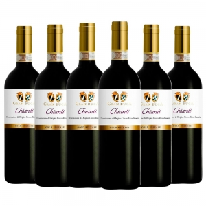Caixa com 6 garrafas - Vinho Gran Duca Chianti