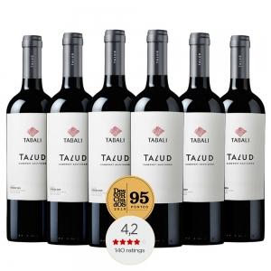 Caixa com 6 garrafas - Vinho Tabalí Talud Cabernet Sauvignon