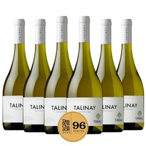 Caixa com 6 garrafas - Vinho Talinay Chardonnay 2020