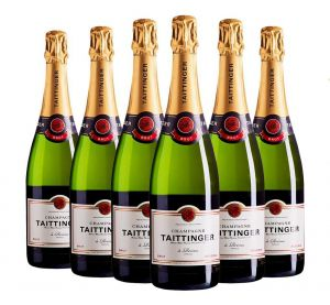 Champagne Taittinger Reserve Brut 6 Garrafas