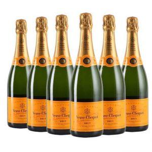 Champagne Veuve Clicquot Brut 6 Garrafas
