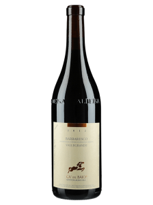 Vinho Barbaresco Vallegrande Cá del Baio 2016