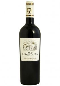 Vinho Chateau Grand Lys Bordeaux Supérieur