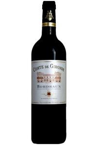 Vinho Comte de Gironde Bordeaux 2018