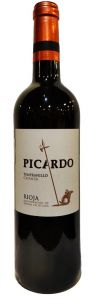 Vinho Picardo Crianza Rioja Tempranillo 2014