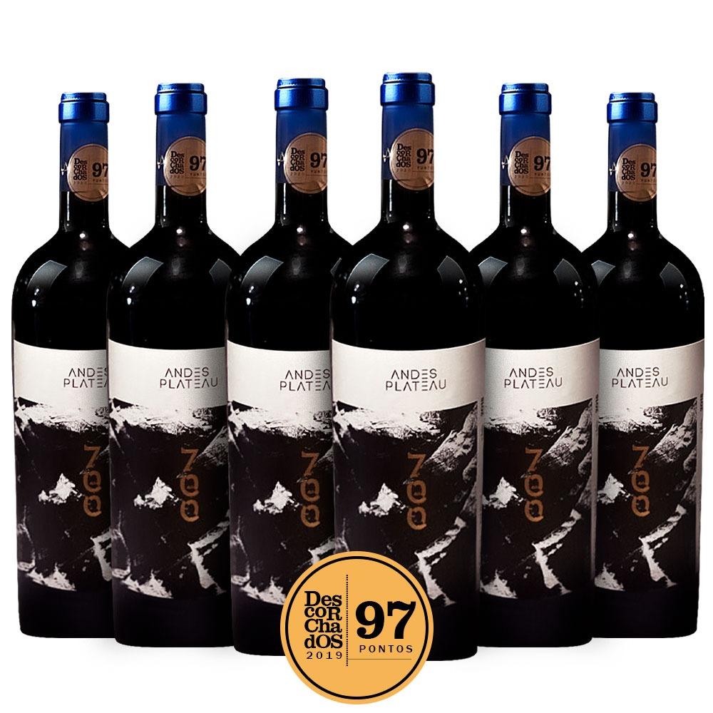 Caixa com 6 garrafas - Andes Plateau 700 2018