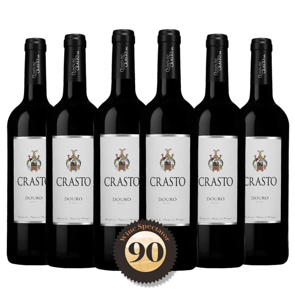 Caixa com 6 garrafas - Vinho Crasto Douro