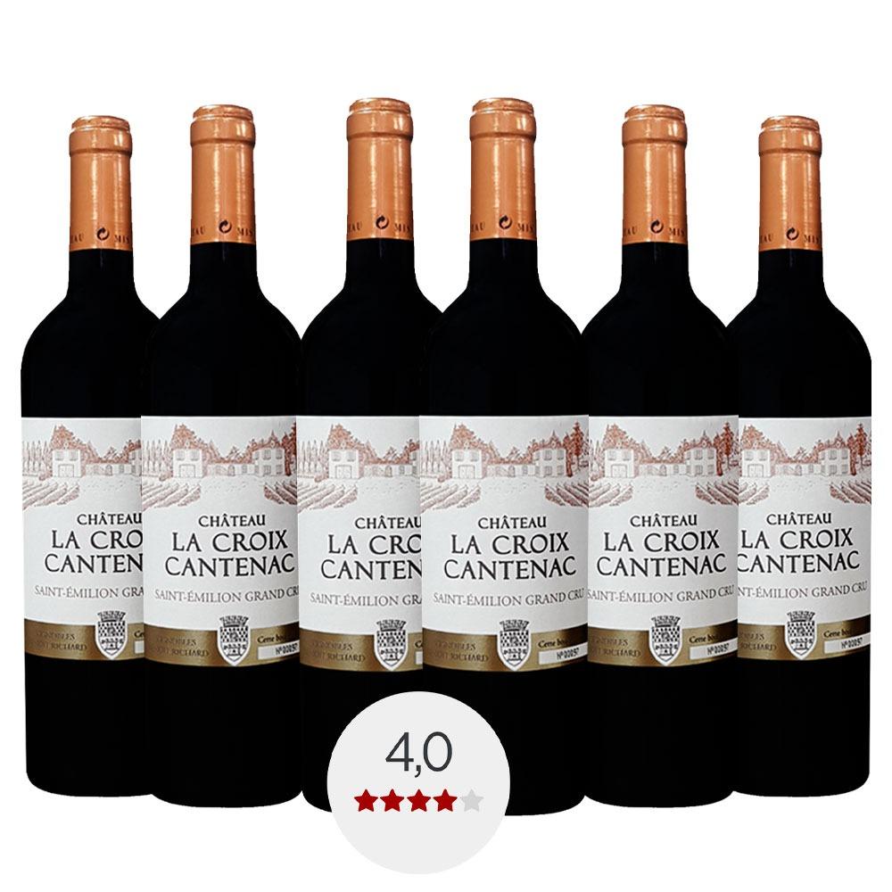 Caixa com 6 garrafas - Vinho Château La Croix Cantenac