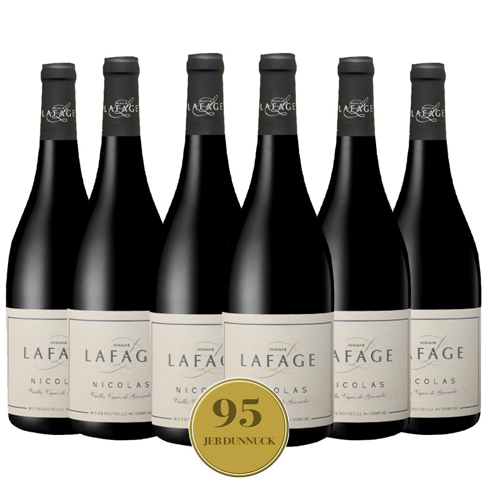 Caixa com 6 garrafas - Vinho Domaine La Fage Nicolas Cuvee 2019