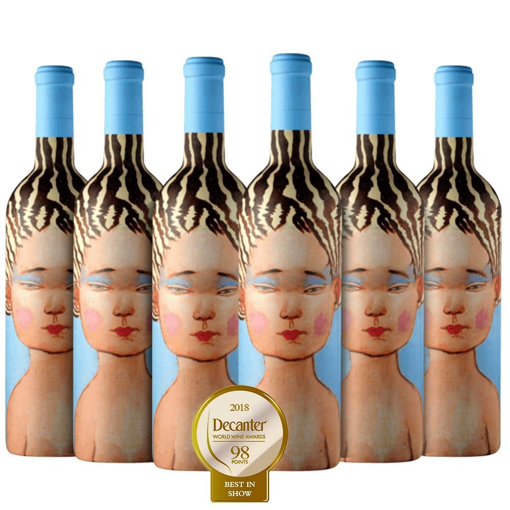 Caixa com 6 garrafas - Vinho La Piu Belle