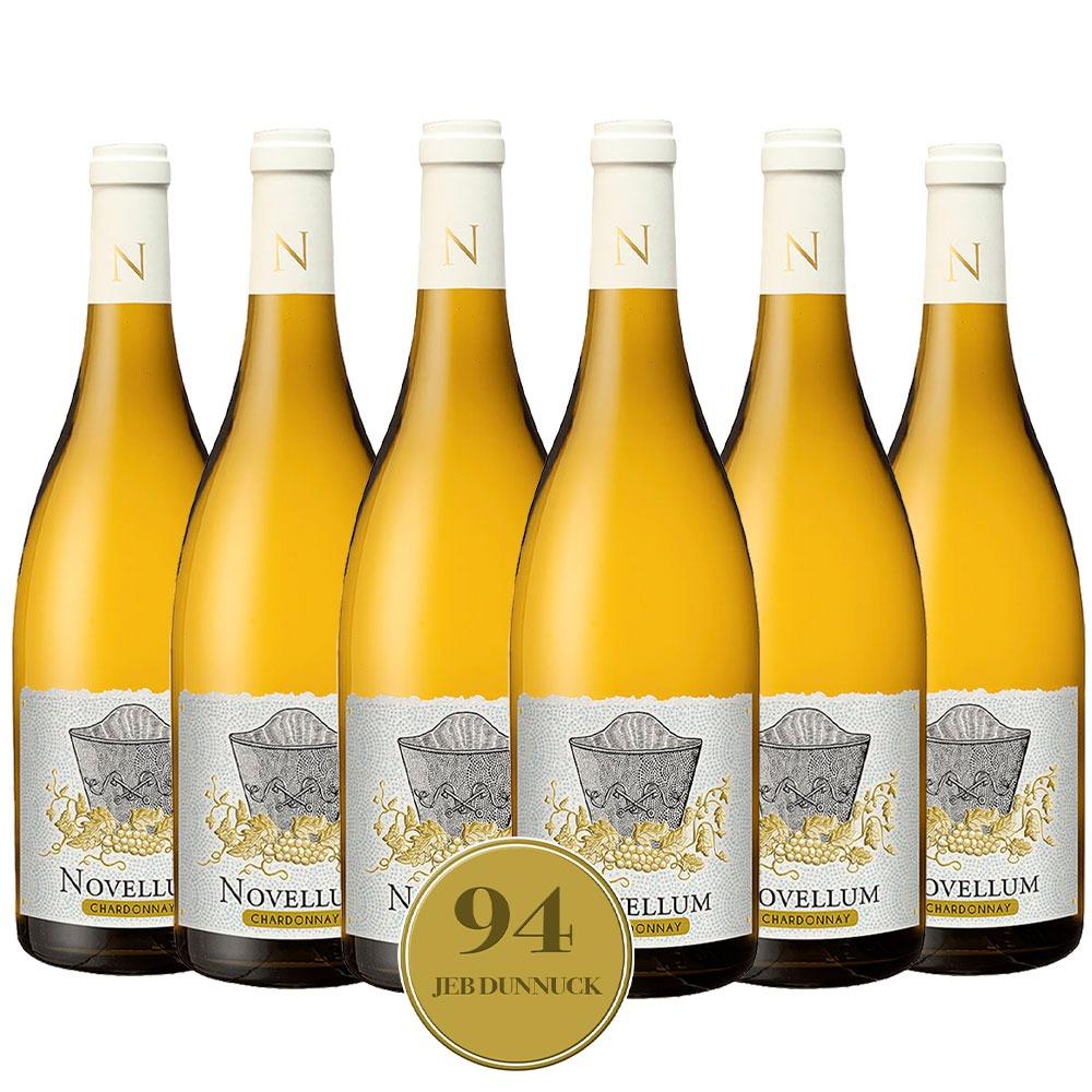 Caixa com 6 garrafas- Vinho Novellum Chardonnay 2020