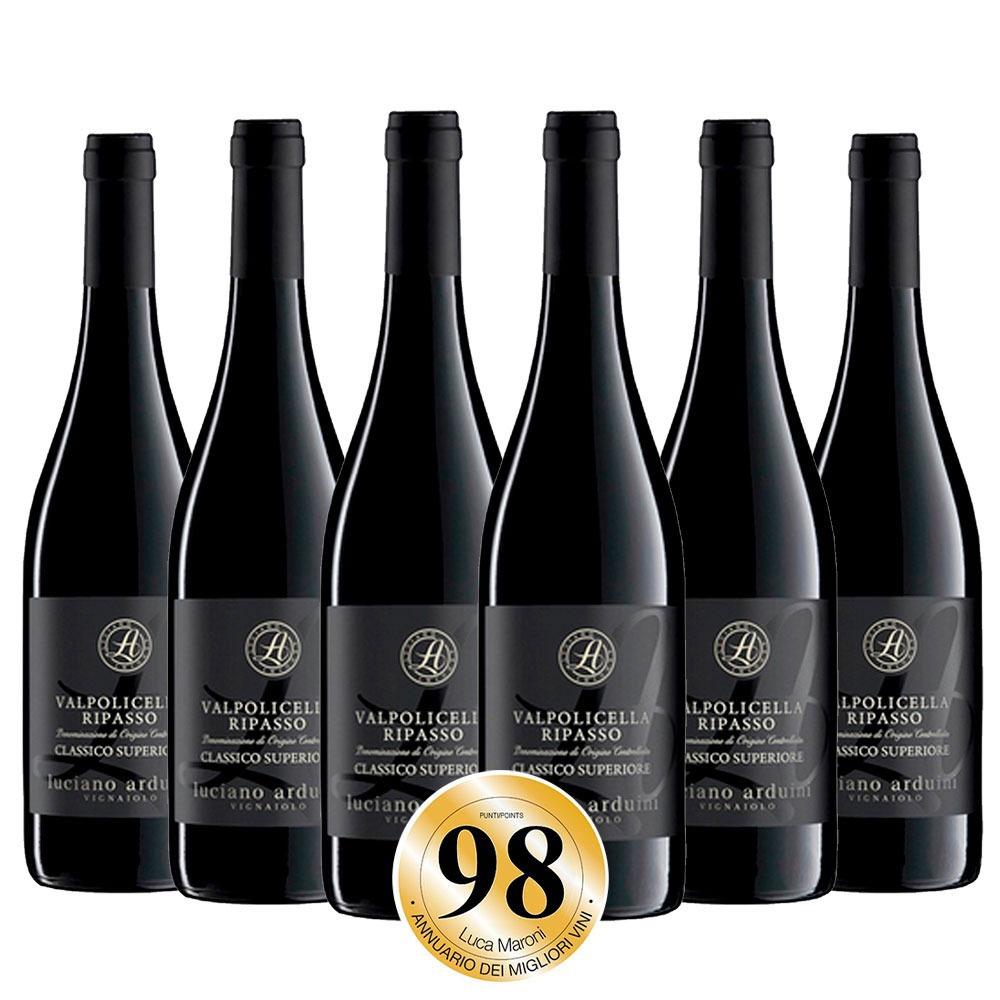 Caixa com 6 garrafas - Vinho Valpolicella Ripasso Clássico 2019