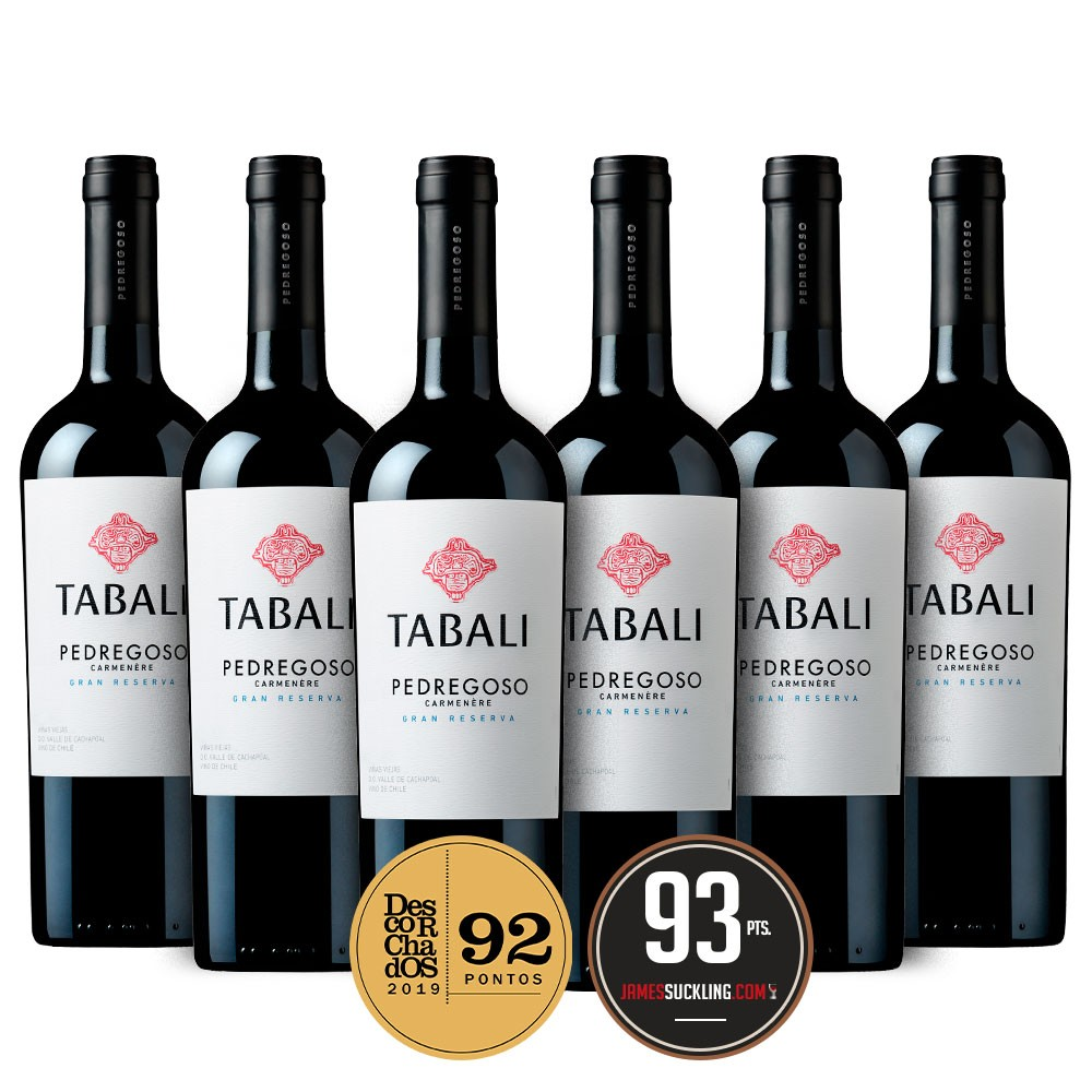 Tabali Gran Reserva Carmenere 6 Garrafas