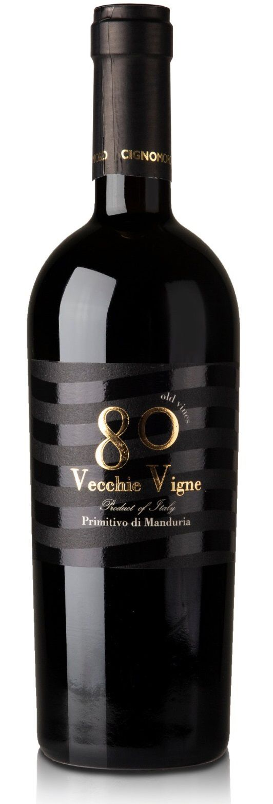 Vinho 80 Vecchie Vigne Primitivo di Manduria 2015