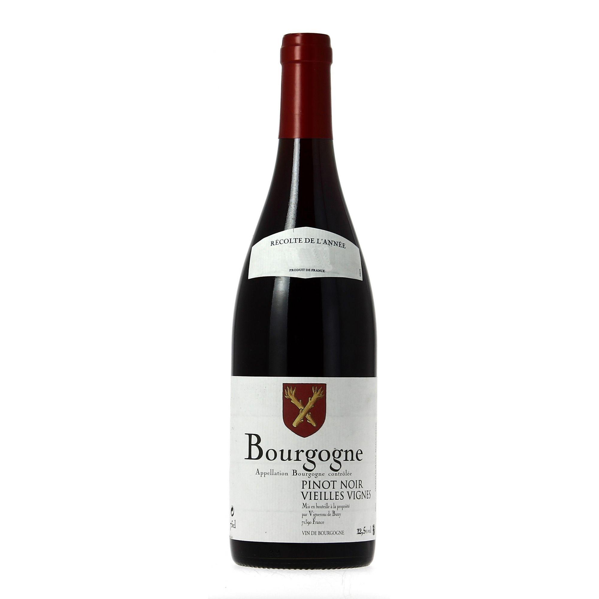 Vinho Buxy Bourgogne Pinot Noir Vieilles Vignes