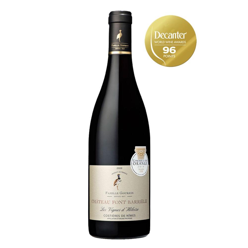 Vinho Chateau Font Barriele Les Vignes d´heloise Costieres -de-Nimes
