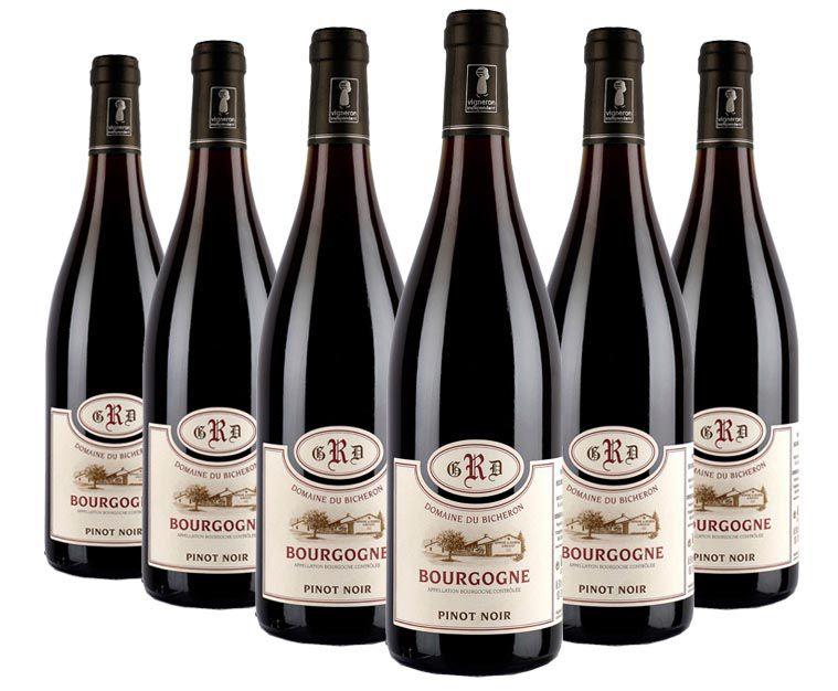 Vinho Domaine du Bicheron Pinot Noir | 6 Garrafas