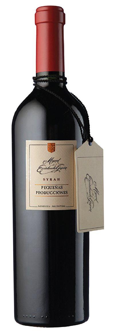 Vinho Escorihuela Pequenas Producciones Syrah