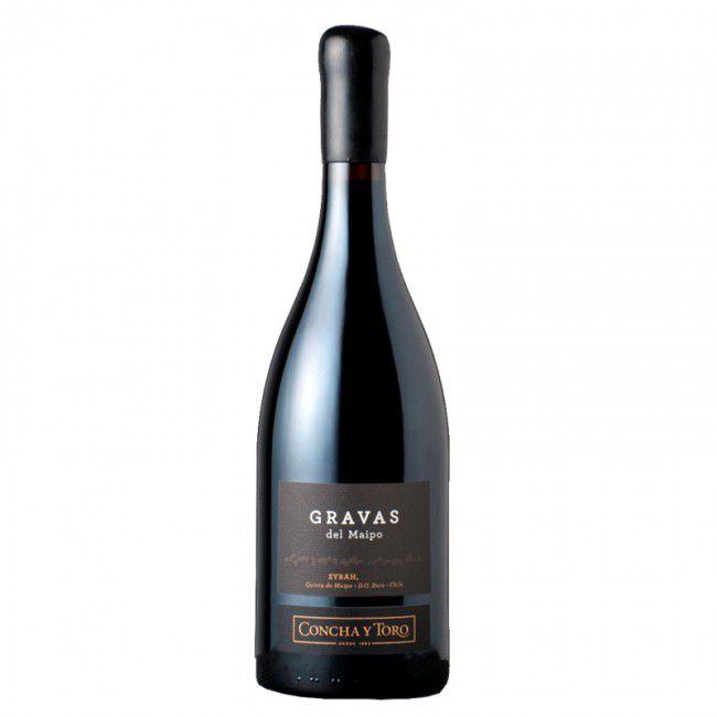 Vinho Gravas del Maipo Syrah 2014