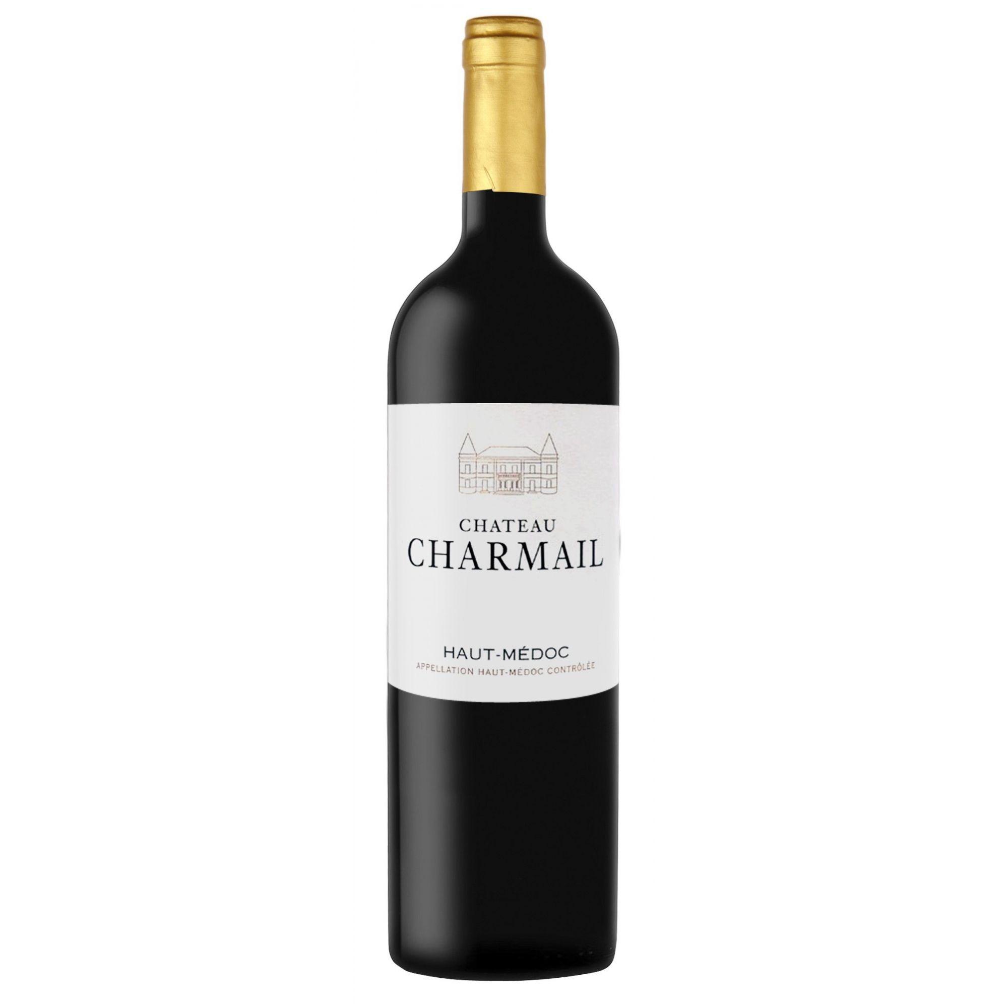 Vinho Haut Medoc Cru Bourgeois Chateau Charmail