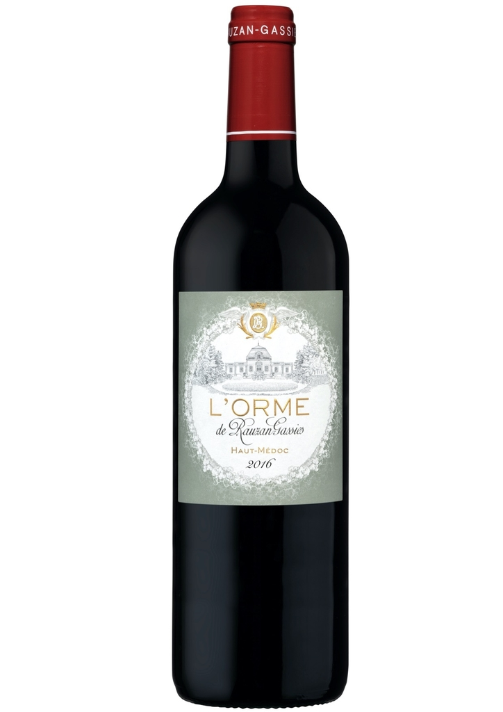 Vinho Haut Médoc L 'Orme de Rauzan Gassies  2016