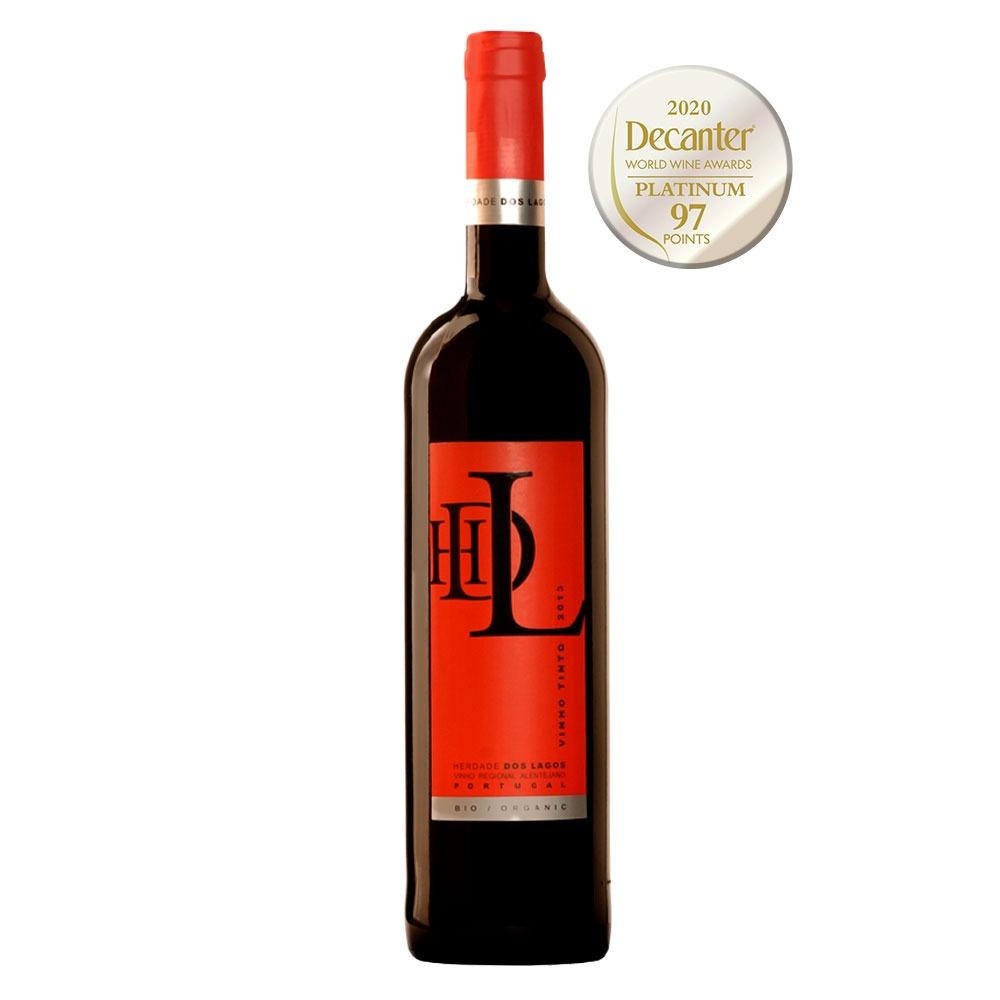 Vinho HDL tinto orgânico 2018