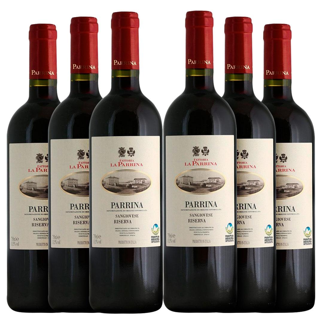 Vinho La Parrina Riserva | 6 Garrafas