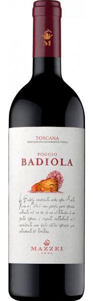 Vinho Mazzei Poggio Badiola Rosso