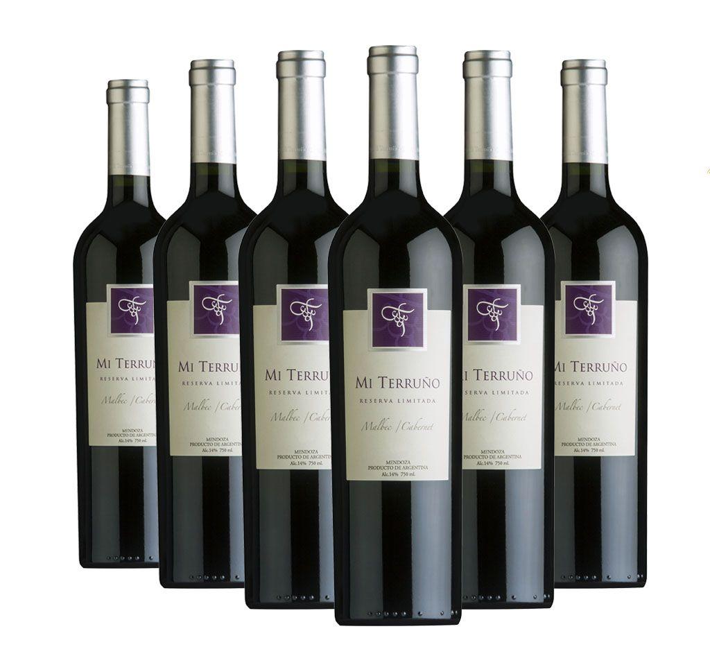 Vinho Mi Terruno Reserva Limitada 6 Garrafas