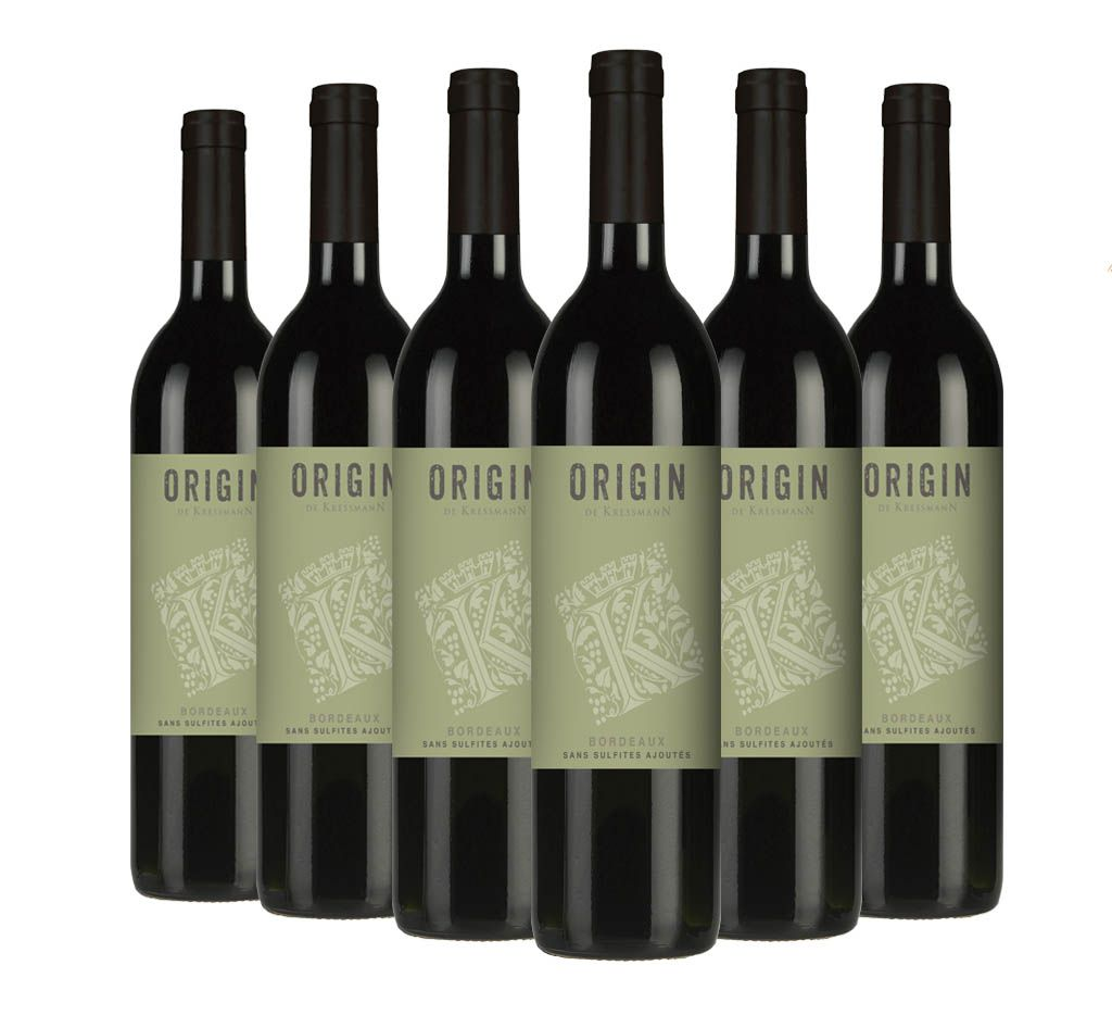 Vinho Origin de Kressmann Bordeaux | 6 Garrafas