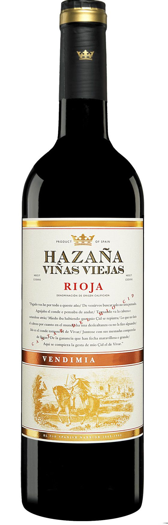 Vinho Rioja Hazana Vinas Viejas Bodegas Abanico
