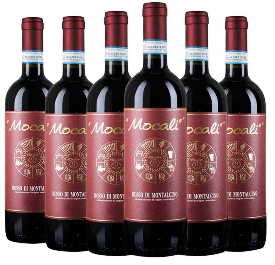 Vinho Rosso di Montalcino Mocali | 6 Garrafas