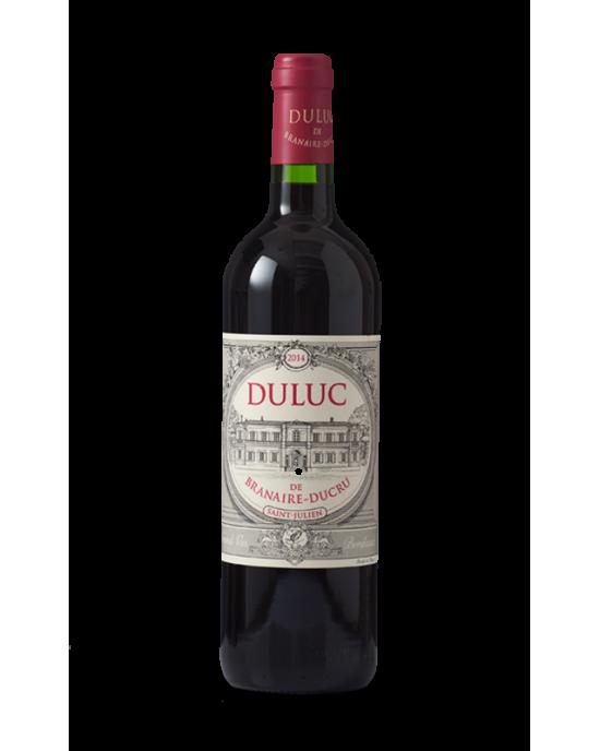 Vinho Saint Julien Duluc de Branaire Ducru 2016