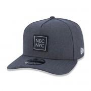 Boné New Era 940 Veranito NEC NYC Cinza