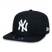 Boné New Era Aba Reta New York Yankees Preto