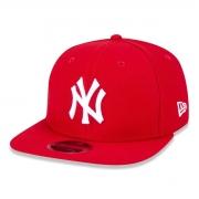 Boné New Era Aba Reta New York Yankees Vermelho