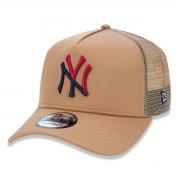 Boné New Era Masculino Logo Colors Yankees Marrom