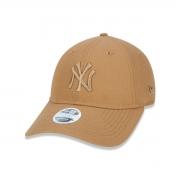 Boné New Era Micro Logo Yankees Marrom