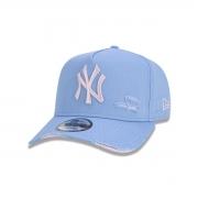 Boné New Era New York Yankees Destroyed Azul