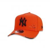 Boné New Era New York Yankees Destroyed Laranja