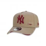Boné New Era New York Yankees Destroyed Marrom